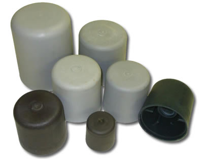 Threaded Nut Covers - Plastic