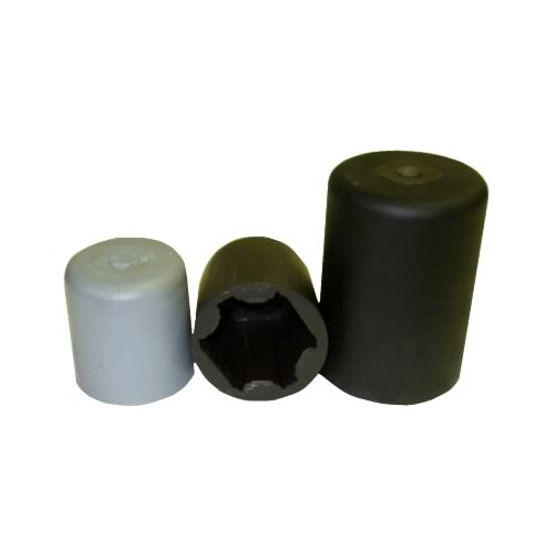 Light Pole Nut Covers: ROUND NUT COVERS, OCTAGON