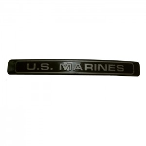 US Marines Black w Gray Letters