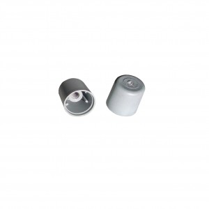 nut cover, 3/4 inch round nut cover, nut cover threaded, threaded nut cover, bolt cover, bolt covers