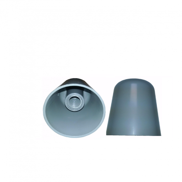 Light Pole Nut Covers: 1 1/4 INCH ROUND NUT COVERS, THREADED