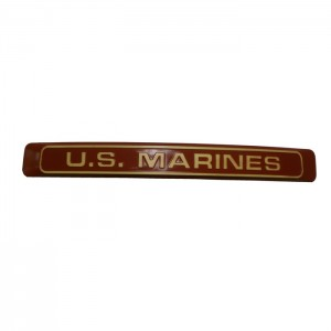 US Marines Red w Yellow Letters
