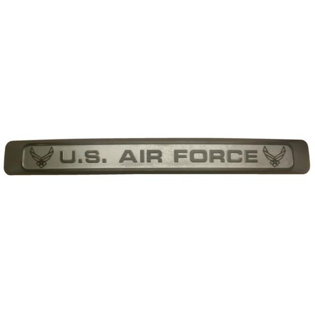 Air Force Gray Straight Windshield