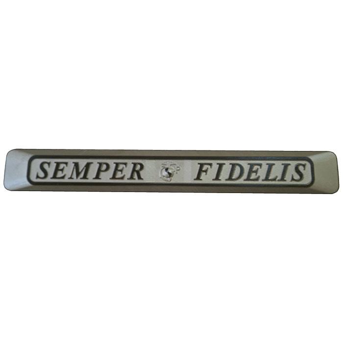 Semper Fidelis Truck Emblem,Semper Fi Truck Plaque - JMA ...