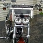 US Marines Black w Gray Letters Bike SW1